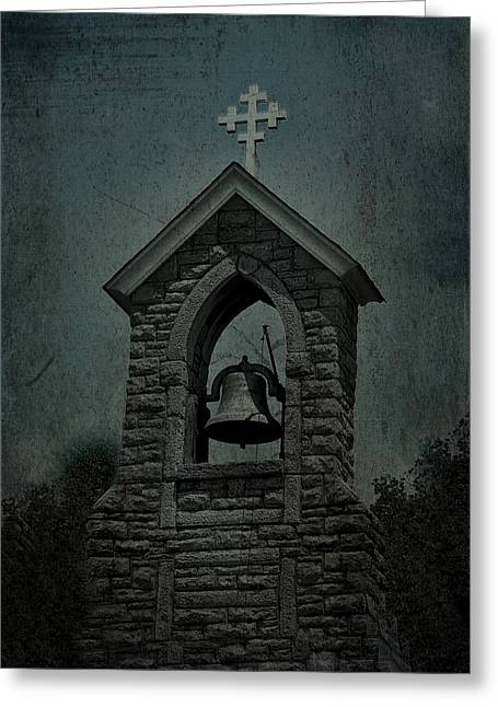 St Mary Magdalene Photographs Greeting Cards - St Mary Magdalene Church TEAL Greeting Card by Lesa Fine