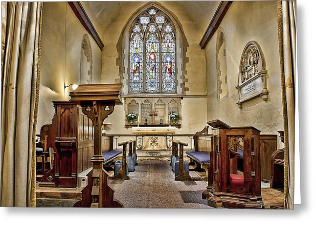 St Mary Magdalene Photographs Greeting Cards - St Mary Magdalene Denton Greeting Card by Dave Godden