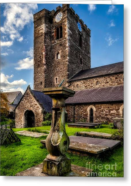 Religious Digital Greeting Cards - St Marys Church Greeting Card by Adrian Evans