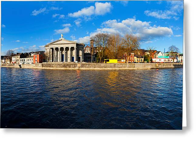 Marys Greeting Cards - St Marys Church At The Waterfront Greeting Card by Panoramic Images