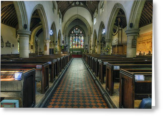 Reverend Greeting Cards - St Marys - Wales Greeting Card by Ian Mitchell