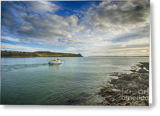 Duchess Greeting Cards - St Mawes Ferry Duchess of Cornwall Greeting Card by Chris Thaxter