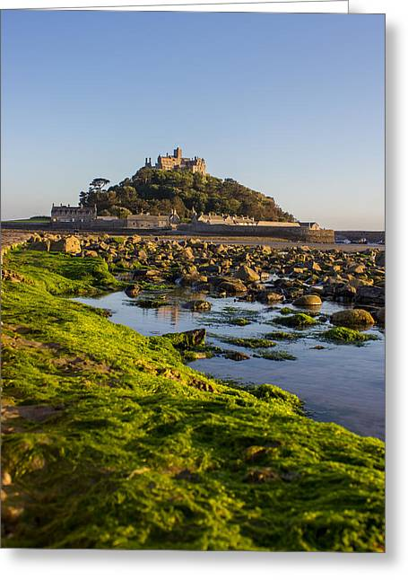 Cathedral Rock Greeting Cards - St Michaels Mount Greeting Card by Martin Newman