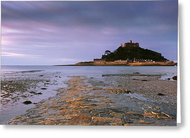Cornwall Greeting Cards - St Michaels Mount Greeting Card by Rod McLean
