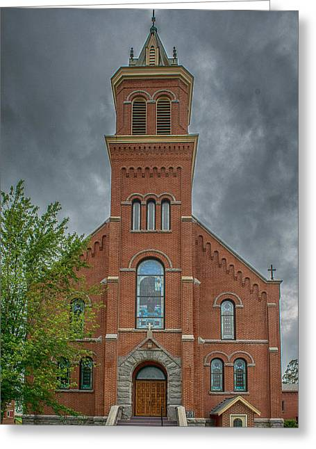 Peaceful Scene Greeting Cards - St Micheals Church Greeting Card by Paul Freidlund