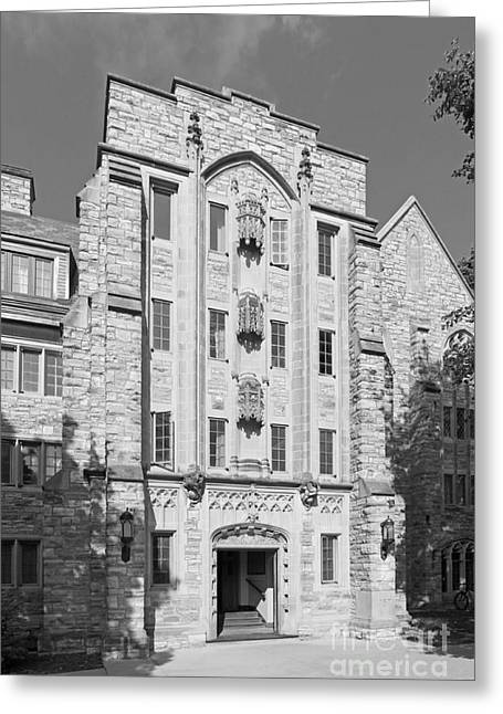 Liberal Greeting Cards - St. Olaf College Mellby Hall Greeting Card by University Icons
