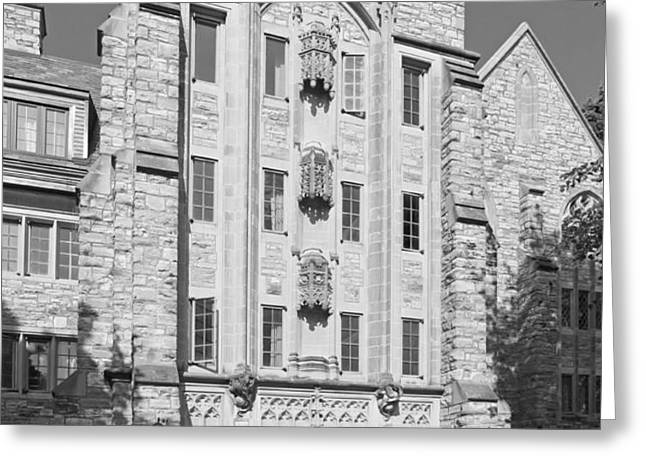St. Olaf College Mellby Hall Greeting Card by University Icons
