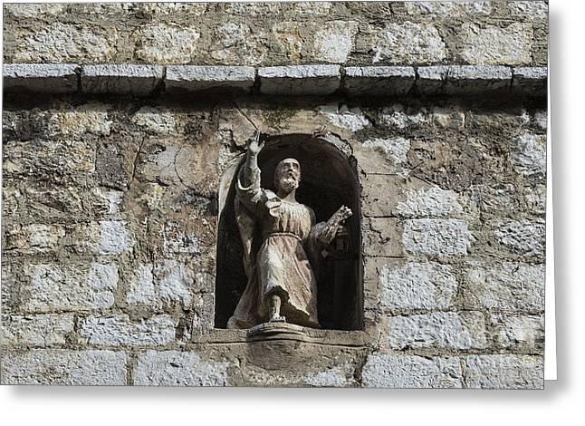 Saint Paul De Vence Greeting Cards - St Paul de Vance Greeting Card by John Greim