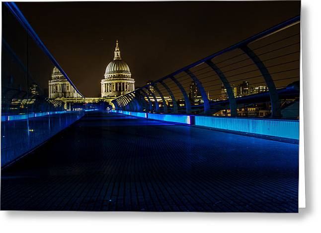 Leading Lines Greeting Cards - St Pauls Cathedral Greeting Card by Martin Newman