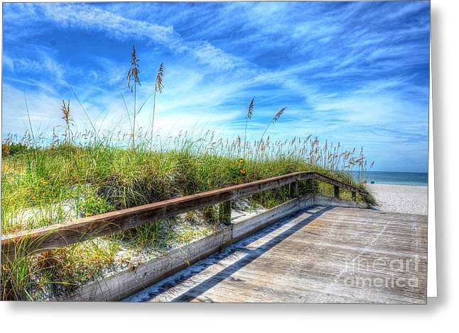St Petersburg Florida Greeting Cards - St. Pete Beach Greeting Card by Debbi Granruth