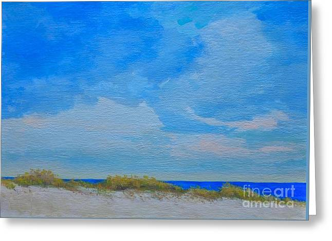 My Ocean Greeting Cards - St. Pete Beach Spring Greeting Card by Gail Kent