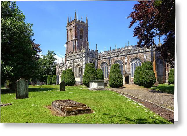 St Peter Greeting Cards - St Peters Church - Tiverton Greeting Card by Joana Kruse