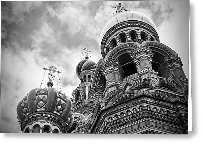 Church On Spilled Blood Greeting Cards - St. Petersburg No. 2 Greeting Card by Todd Hartzo