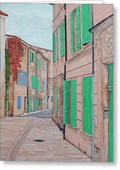 South Of France Greeting Cards - St. Remy de Provence Greeting Card by Steven Fleit