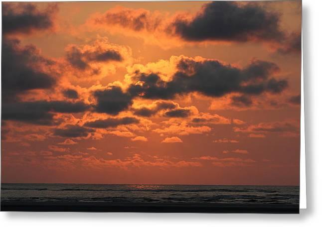 Gullah Greeting Cards - St Simons and Sea Island Sunrise Greeting Card by Reid Callaway