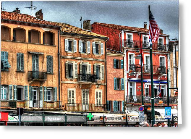 St.tropez Greeting Cards - St. Tropez Painted Ladies Greeting Card by Bruce Swindlehurst