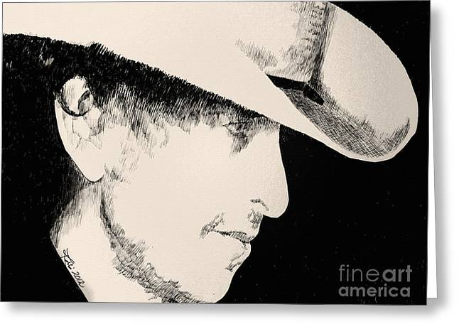 Robbi Musser Pen And Ink Greeting Cards - Stack A Lee Greeting Card by Robbi  Musser