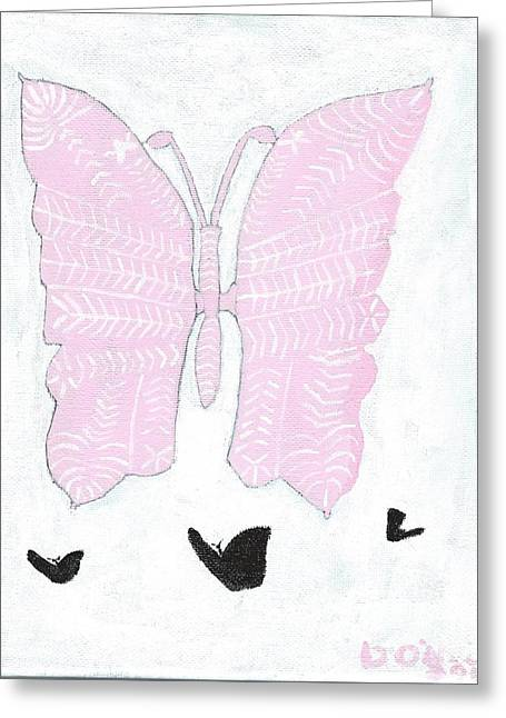 Saint Jude Greeting Cards - Stacys Wings Greeting Card by Dennis ONeil