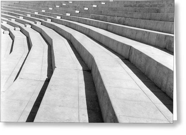Mexico City Photographs Greeting Cards - Stadium, Mexico City, 1927 Greeting Card by Tina Modotti