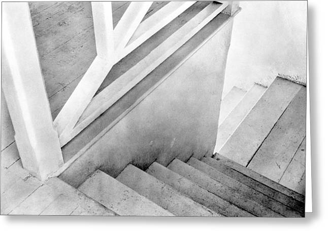 Staircase, Mexico City, C.1924 Greeting Card by Tina Modotti
