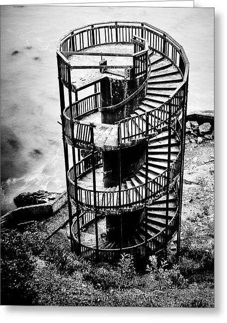 San Luis Obispo Greeting Cards - Staircase to Nowhere Greeting Card by Aron Kearney Fine Art Photography