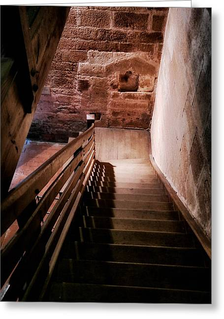 Cellar Greeting Cards - Staircase to the Cellar  Greeting Card by Mountain Dreams