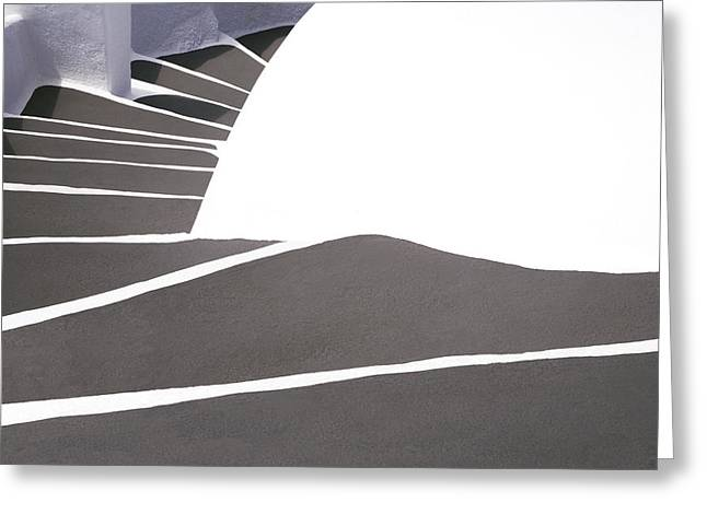 Flight Of Stairs Greeting Cards - Stairs 2 Greeting Card by Jim  Wallace