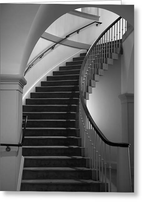 D.w Greeting Cards - Stairway Study II Greeting Card by Steven Ainsworth