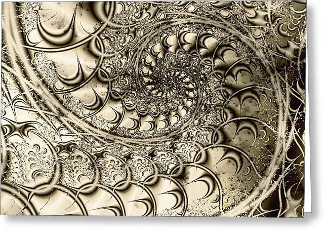 Mechanical Mixed Media Greeting Cards - Stairway to Heaven Greeting Card by Anastasiya Malakhova