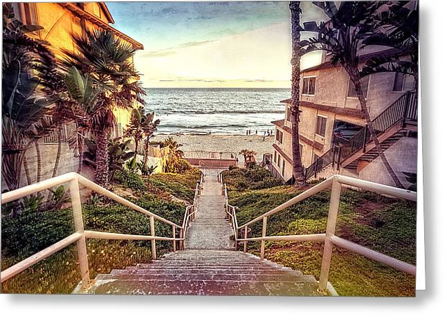Stairway To Heaven Greeting Card by Ann Patterson