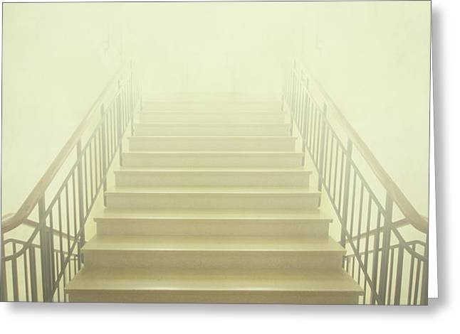 Stairway To Heaven Greeting Card by Evelina Kremsdorf