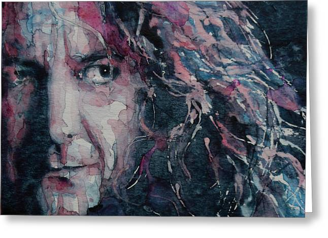 Led Zeppelin Greeting Cards - Stairway To Heaven Greeting Card by Paul Lovering