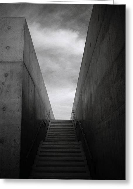 Brutalism Greeting Cards - Stairway To Heaven Greeting Card by Shaun Higson