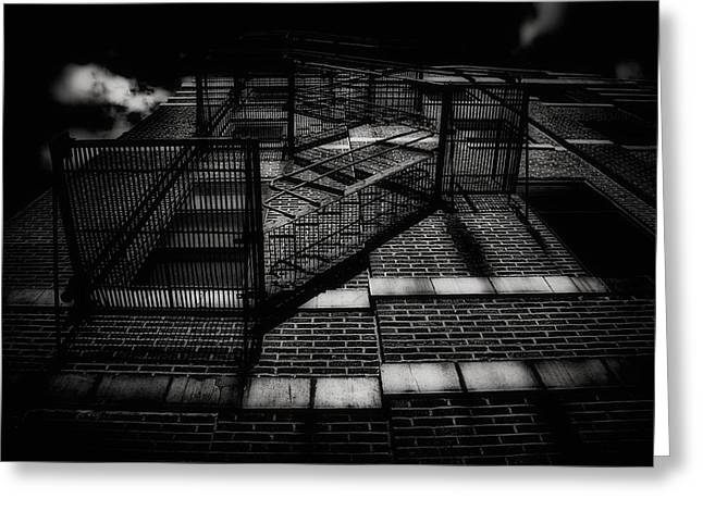 Staircase Mixed Media Greeting Cards - Stairway To Heaven Greeting Card by Todd and candice Dailey
