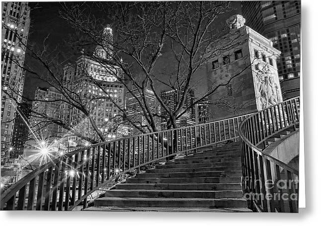 Jeff Lewis Greeting Cards - Stairway to Home Greeting Card by Jeff Lewis