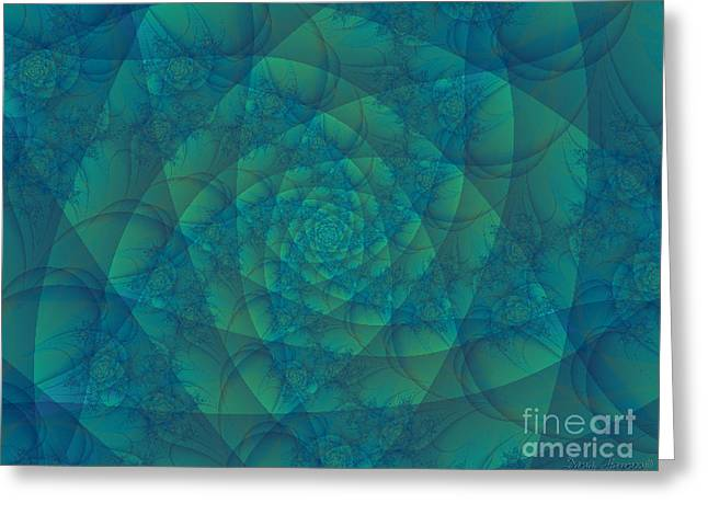 Mystic Art Greeting Cards - Stand By Greeting Card by Dana Haynes