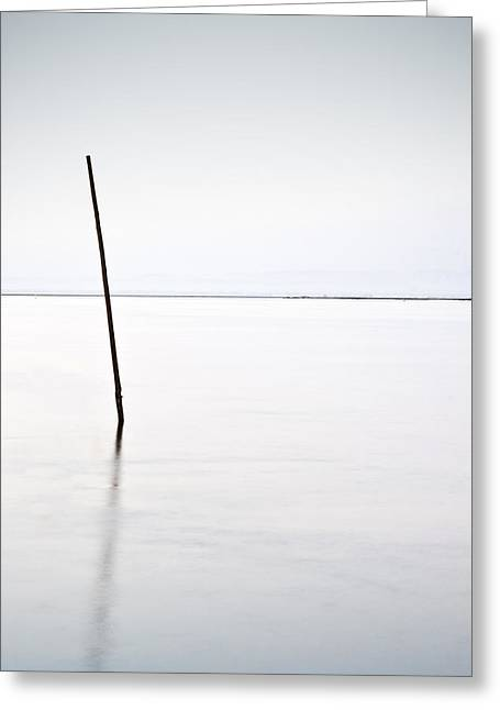 Waterscape Greeting Cards - Standing alone Greeting Card by Jorge Maia