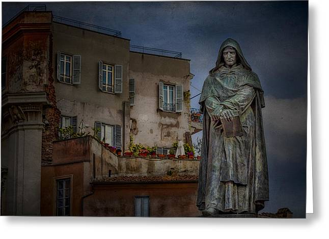 Angelic Greeting Cards - Standing Guard Greeting Card by Erik Brede