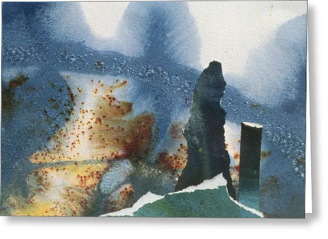 Monolith Greeting Cards - Standing Stones Greeting Card by Gloria Wallington