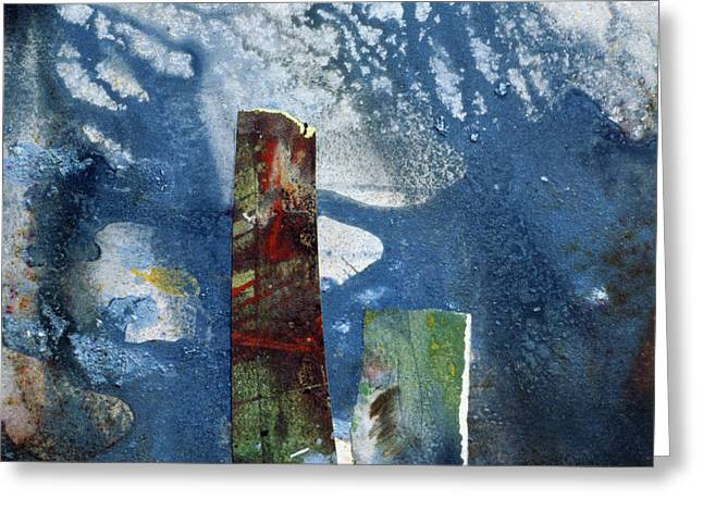 Monolith Greeting Cards - Standing Stones Ii Greeting Card by Gloria Wallington