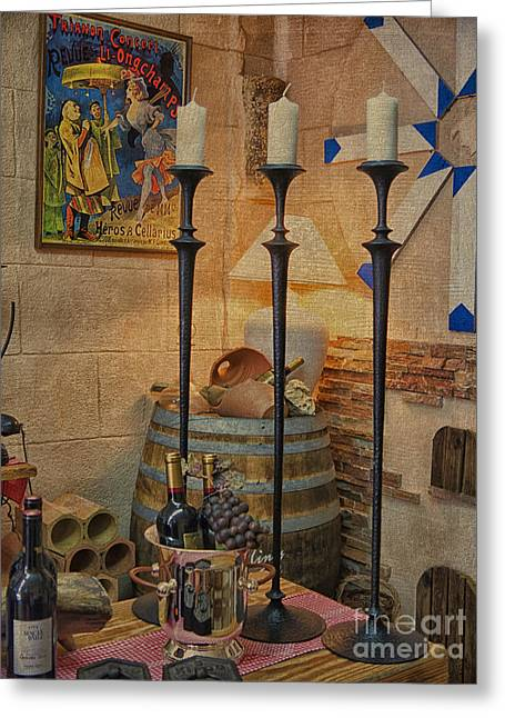 Candle Stand Greeting Cards - Standing tall Greeting Card by Gillian Singleton