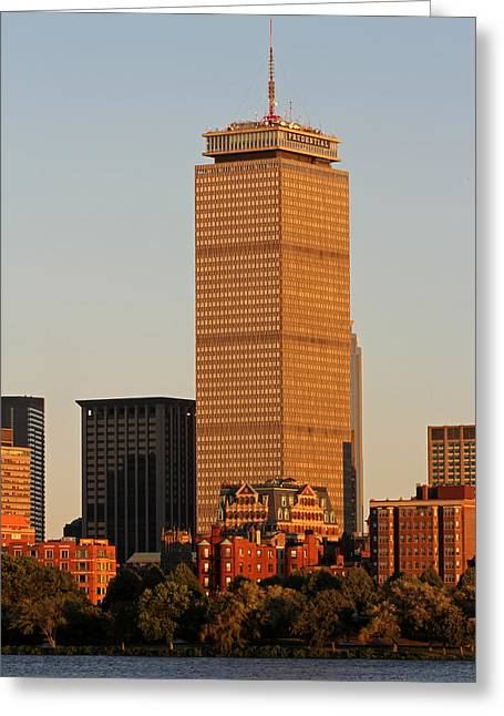 Beantown Greeting Cards - Standing Tall Greeting Card by Juergen Roth
