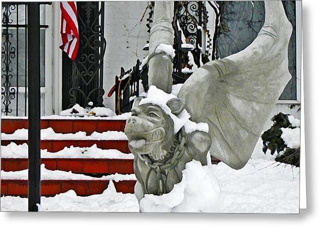 Standing Watch  Greeting Card by Chris Berry