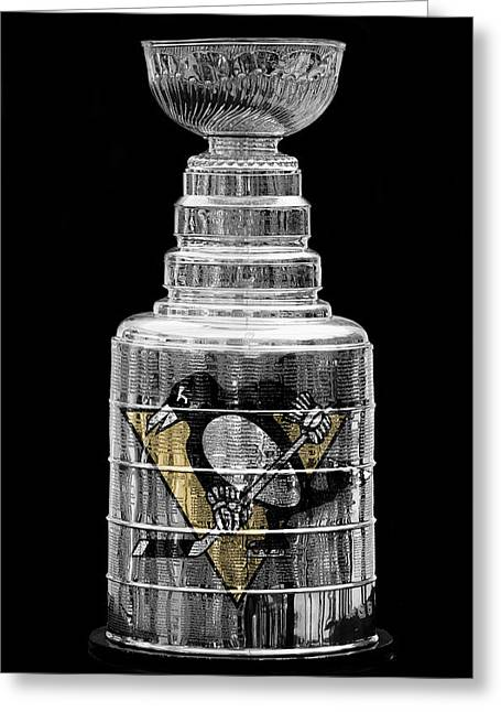 Sidney Crosby Greeting Cards - Stanley Cup 8 Greeting Card by Andrew Fare