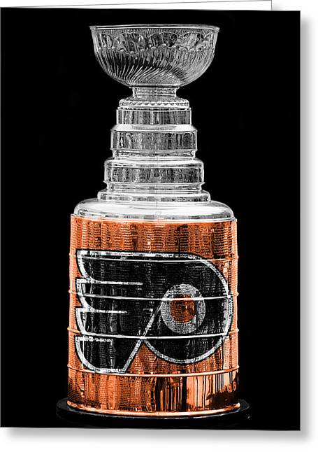 Flyer Greeting Cards - Stanley Cup 9 Greeting Card by Andrew Fare