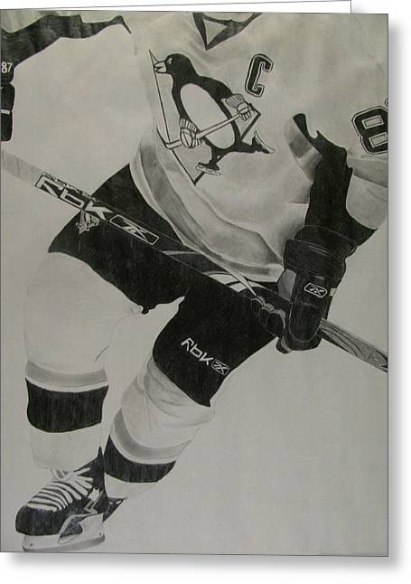 Sidney Crosby Greeting Cards - Stanley Cup Quest Greeting Card by Julien Gregoire Bouchard