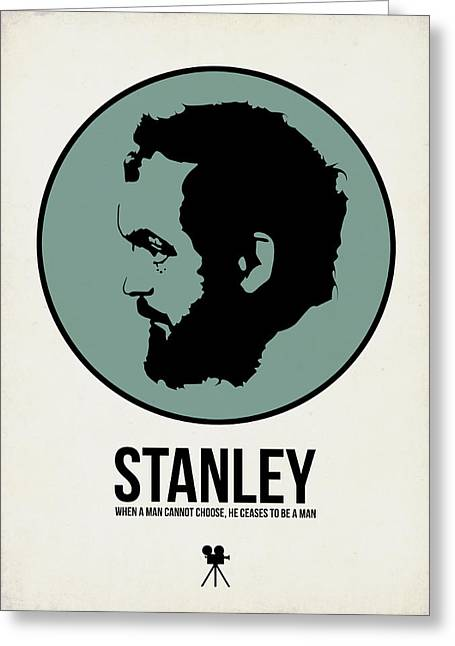 American Film Greeting Cards - Stanley Poster 1 Greeting Card by Naxart Studio