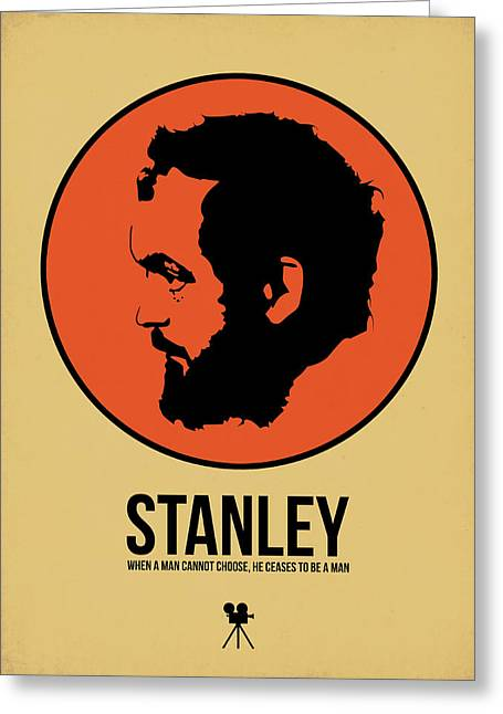 American Film Greeting Cards - Stanley Poster 2 Greeting Card by Naxart Studio