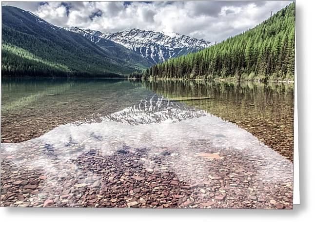 Montana Mountains Greeting Cards - Stanton Lake Greeting Card by Aaron Aldrich