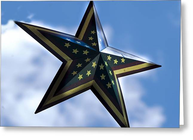 Star Greeting Card by Annette Persinger